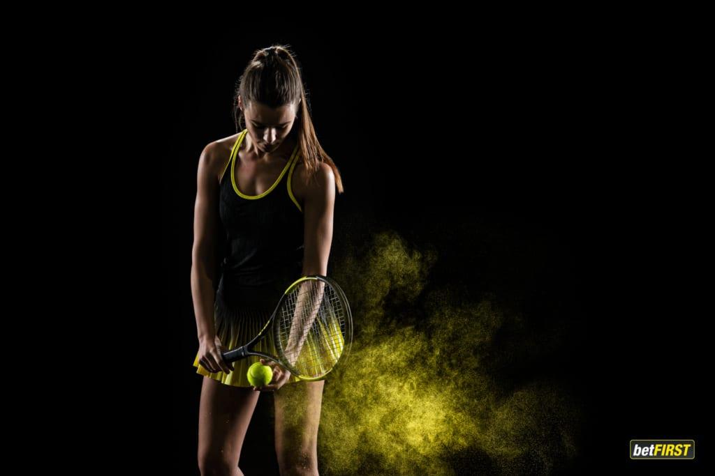 betFIRST tenniswoman